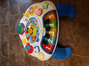 Laugh and learn chair and musical activity table