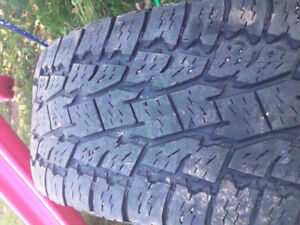 285/70 R 17 WINTER TIRES FOR SALE