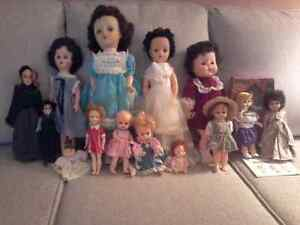 COLLECTION OF 14 VINTAGE DOLLS