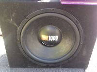JBL 1000 watts Sub woofer