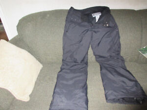 columbia snowpants youth size 18-20