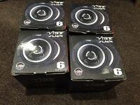 Brand new vibe slick speakers 6.5 inch - 240 watts