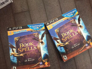 PS3 BOOK OF SPELLS     2 for only $5