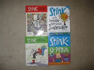 Stink Chapter Books