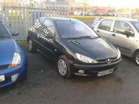2003 Peugeot 206 1.4 LX Black
