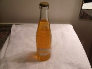 ANTIQUE BOUTEILLE DE LIQUEUR ORANGE NESBITTS