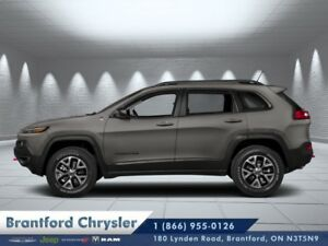 2018 Jeep Cherokee Trailhawk  - Leather Seats  - $260.61 B/W