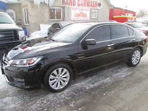 2013 HONDA ACCORD // FULLY LOADED // LEATHER // BACK UP CAM