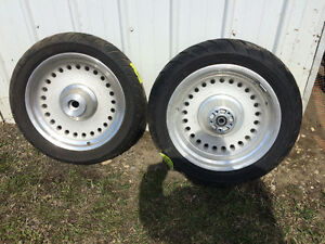 2007 Harley fatboy wheels and tires