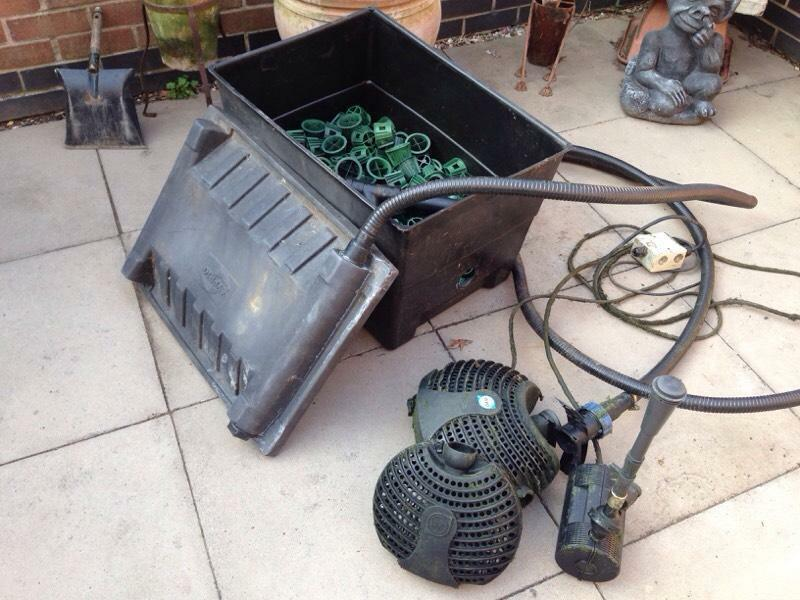 Fish Pond Filter And Pump Buy Sale And Trade Ads