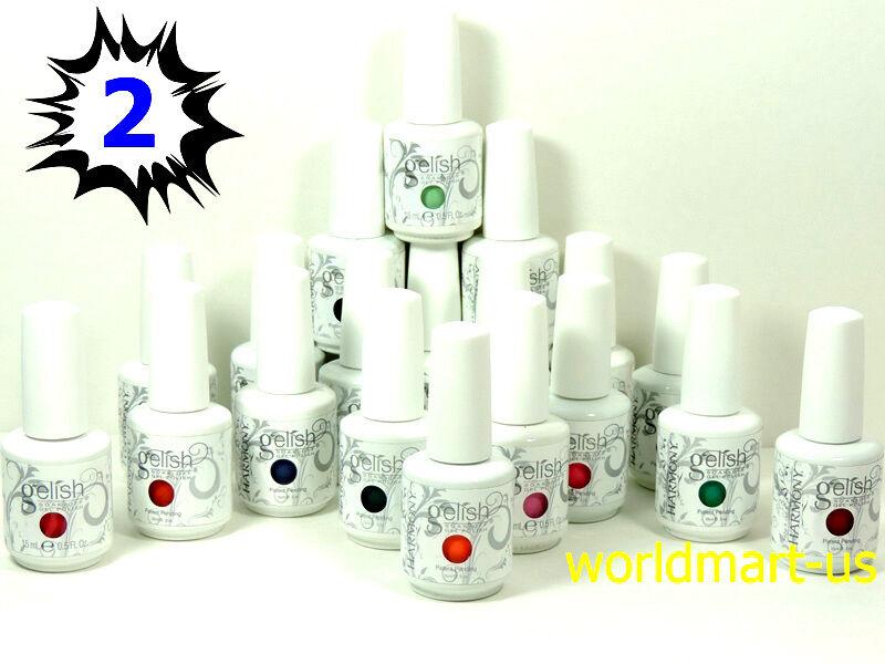 GELISH HARMONY Gel Nail Polish Soak off 15ml05oz Pick Any Color Part 2