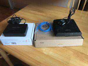 Modem et adaptateur téléphonique pour branchements avec EBOX