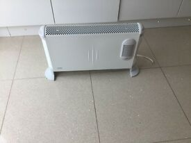 Dimples convector heater ideal for conservatory