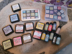 Tim Holtz Distress Ink Collection