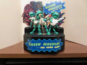 Frog Band - Green Machine - it moves!  1989, Metro Toys
