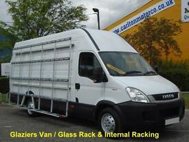 2011/ 11 Iveco Daily 35s13 L3 H3 [ Glaziers+Glass Racks ] Low Mileage Wb 3950