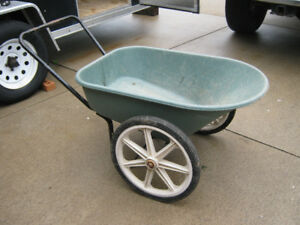LARGE WHEELBARREL WITH 2 WHEELS
