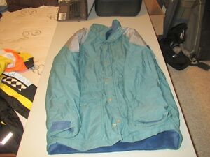 Mens Green Winter Jacket Size Xlarge