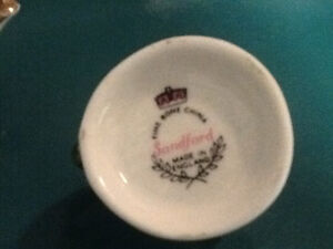 Miniature Sandford fine bone china London Ontario image 2