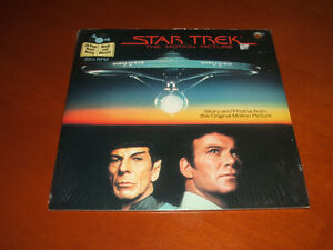 Star Trek the Motion Picture story book and record Stratford Kitchener Area image 1
