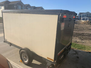 Covered Utility Trailer sold