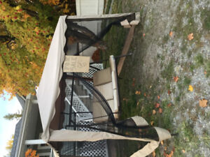 Yard tent/porch swing CHEAP package