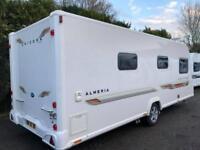 2012 Bailey Unicorn Almeria 4 berth caravan FIXED BED, MOTOR MOVER BARGAIN !
