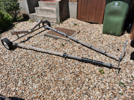 Dinghy/boat Launching trolley.