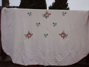Vintage Bedcover and Accessories