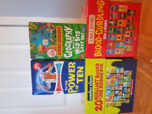 Horrible Histories, Science, Maths and Geography books box sets