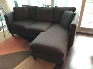 Lure Sofa Chaise Couch Sectional Urban Barn