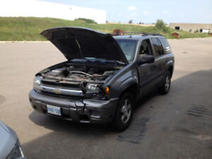 2005 Chevrolet Trailblazer LS For Sale AS IS