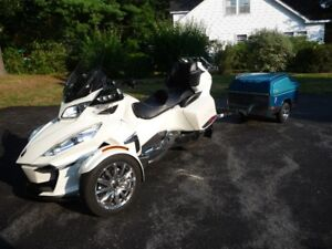 For Sale:  2016 Can Am Spyder RT Limited & Trailer
