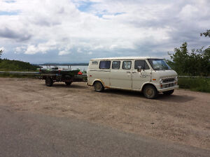 1974 Ford Econoline E100 Super Van Low Miles For Sale $1900 obo