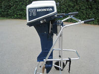 Honda 7.5hp, 4 stroke with gas tank-LONG SHAFT