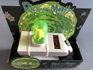 Rick and Morty Portal Gun Life-Size Replica - New Unopened