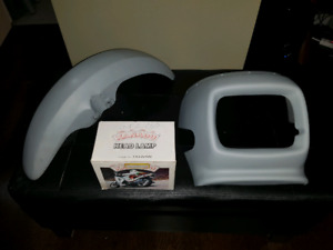 1/4 fairing and fender for vintage/classic motorcycle