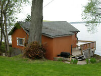 Rice Lake Waterfront cottage rental booking for 2015