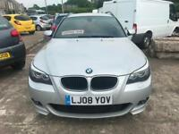 2008 (08 reg) BMW 5 Series 2.0 520d M Sport Touring 5dr Estate Turbo Diesel Auto