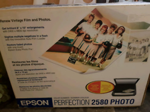Scanner Epson Perfection 2580 photos