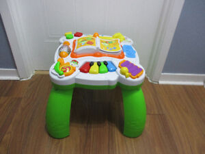 Table  D`activité   musical   De  Leap  Frog