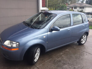 2007 Chevy Aveo -  Want to sell ASAP