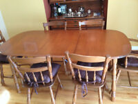 MUST SELL!!! Made in Canada wooden dining room set