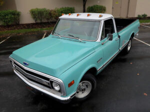 1969 CHEV C20 RESTORED, SAFETY INSPECTED+READY TO GO
