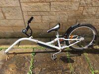 Tag along/ trailer bike for children