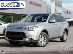 2015 Mitsubishi Outlander ES  4WD | BLUETOOTH | HEATED SEATS