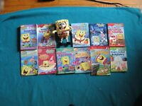 Sponge Bob Book Collection and Stuffie