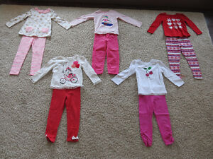 Size 4T Fall and Winter Clothes for Girls