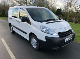 2015 65 PEUGEOT EXPERT PROFESSIONAL CREW VAN 1.6HDI 90BHP L1 H1 ANY UK DELIVERY
