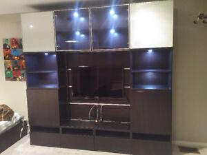IKEA BESTA WALL UNIT/TV CABINET